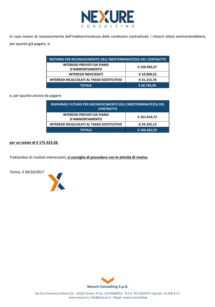 esempio certificazione irregolarità mutui finanziamenti leasing pagina 11