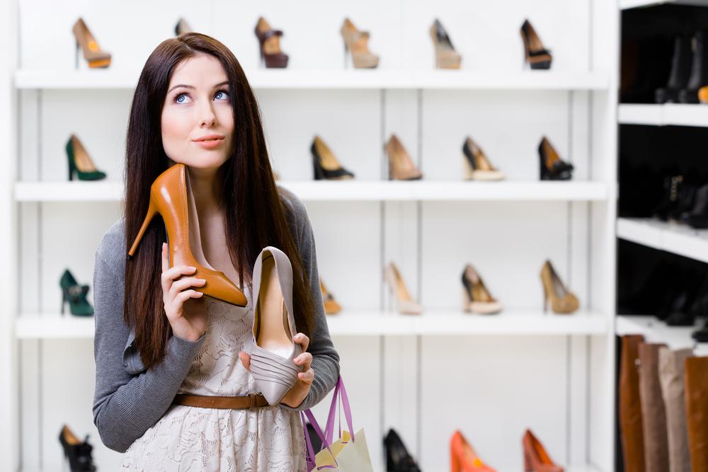 Avete mai comprato delle belle scarpe?